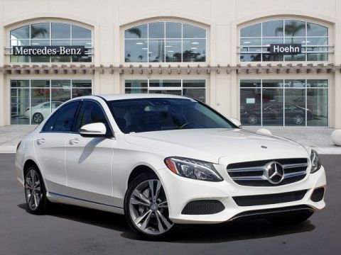 Pre-Owned 2016 Mercedes-Benz C-Class RWD 4dr Car