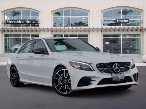 Pre-Owned 2019 Mercedes-Benz C-Class C 300 RWD 4dr Car