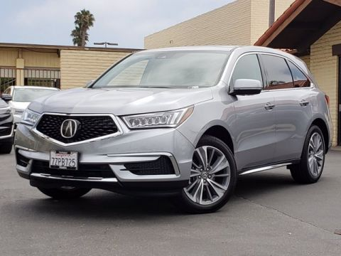 Pre-Owned 2017 Acura MDX w/Technology Pkg FWD UT