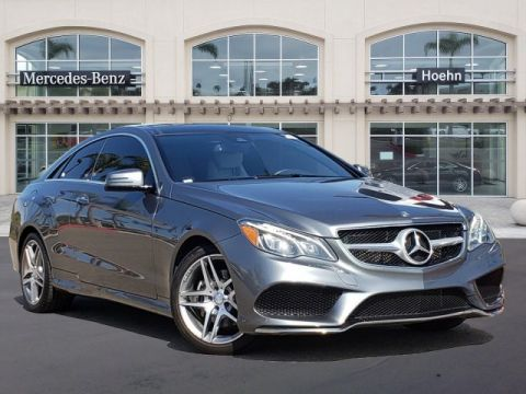 Pre-Owned 2017 Mercedes-Benz E-Class E 400 AWD 4MATIC 2dr Car