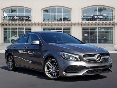 Pre-Owned 2017 Mercedes-Benz CLA CLA 250 FWD Coupe