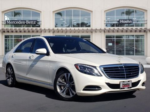Pre-Owned 2016 Mercedes-Benz S-Class S 550 RWD 4dr Car